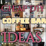 DIY Coffee Bar Ideas You Can Make Easily