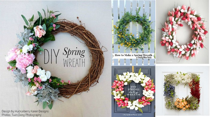 Spring Wreath Ideas That Will Upgrade Home