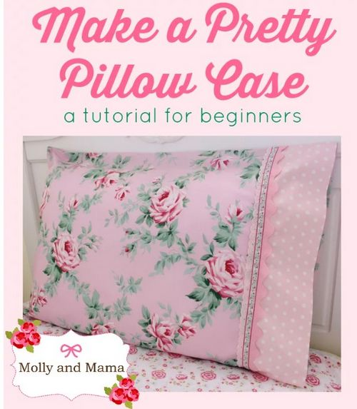 DIY Embroidery Pillowcase With An Iron