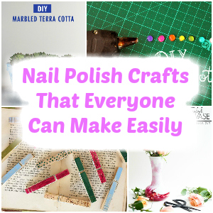 nail polish crafts | nail polish crafts diy | nail polish crafts water marbling | nail polish crafts diy projects |