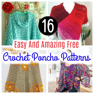 Easy And Amazing Free Crochet Poncho Patterns 3