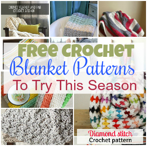 Free Crochet Blanket Patterns To Try This Season
