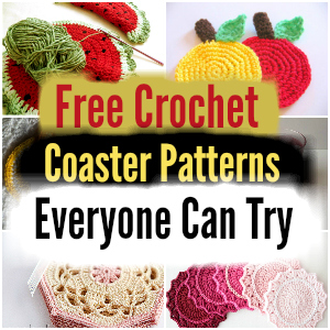Free Crochet Coaster Patterns Everyone Can Try - free crochet coaster patterns | Free Crochet Coaster Patterns