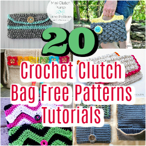 20 Crochet Clutch Bag Free Patterns