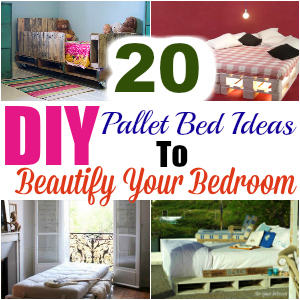 20 DIY Pallet Bed Ideas To Beautify Your Bedroom1 - diy pallet bed | diy pallet bed frame | diy pallet bed with storage