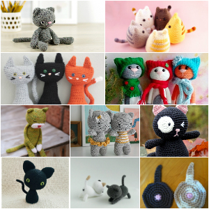 20 Free Crochet Cat Patterns - How To Crochet 1