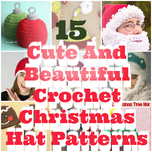 Crochet Christmas Hat Patterns 1