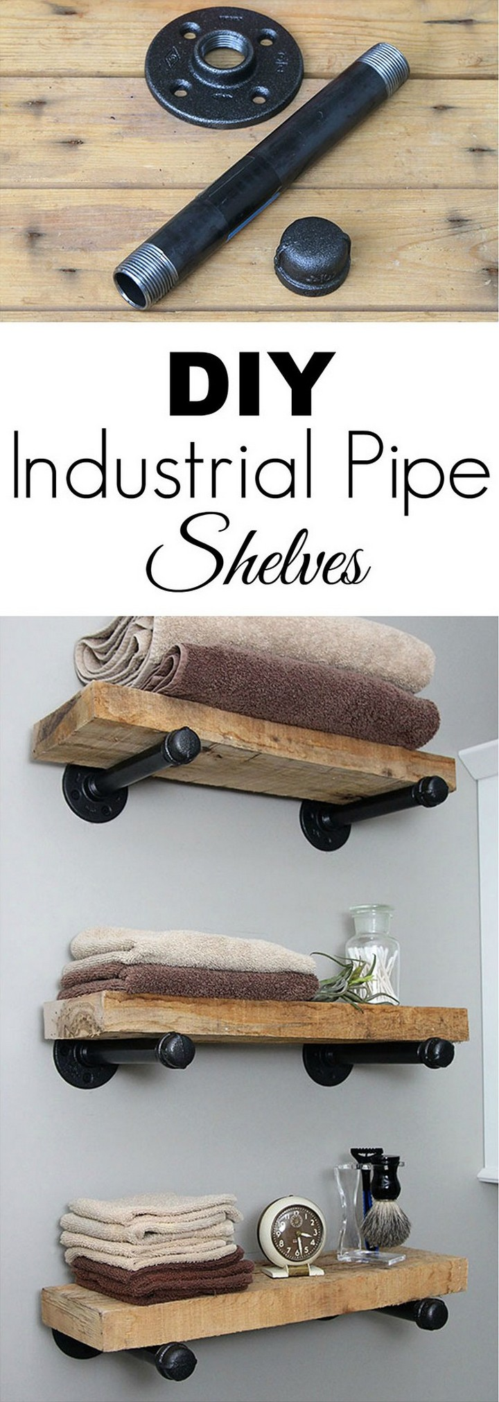 DIY Industrial Pipe