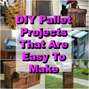 DIY Pallet Projects That Are Easy To Make 1 - diy pallet projects | diy pallet projects easy