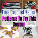 Free Crochet Zebra Patterns To Try This Season