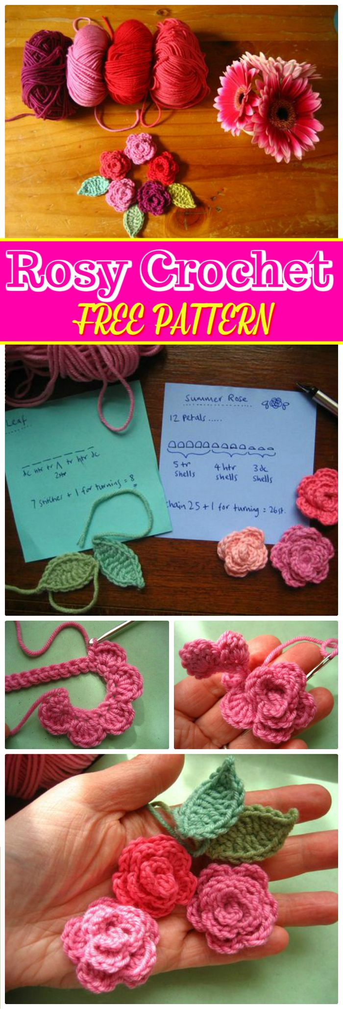 crochet flower pattern free | crochet flower pattern | crochet flower pattern free easy