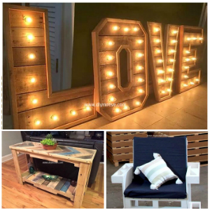 Cheap Wood Pallet Ideas