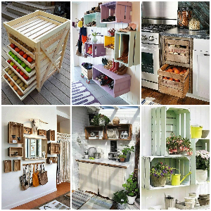 Pallet Fruit Crates Upcycling 1