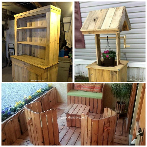 Reshaping Wooden Pallets