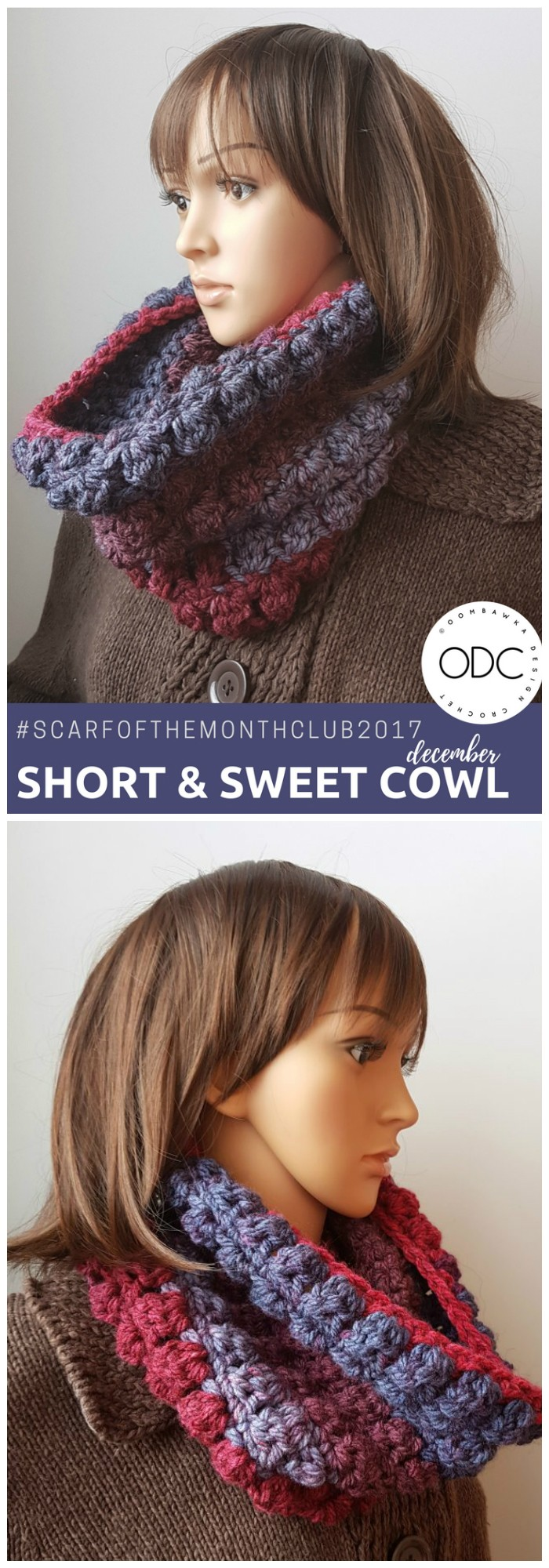 Short And Sweet Cowl Pattern