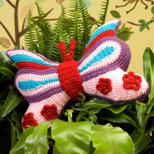 Brilliant Butterfly Pillow
