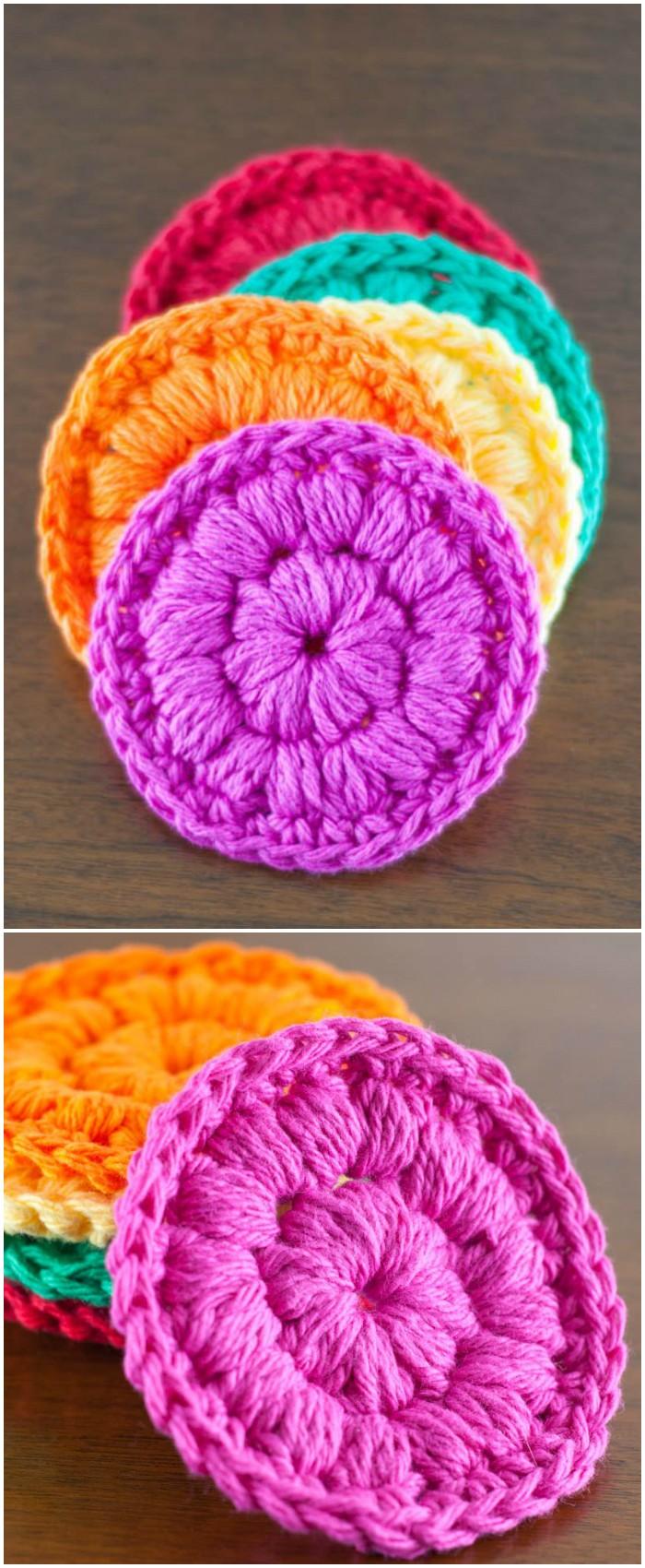 Crochet Cotton Face Scrubbies
