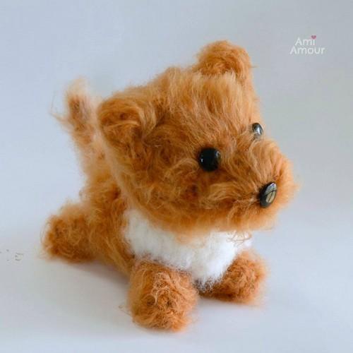 Fluffy Dog Amigurumi