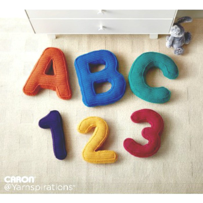 ABC's and 123's Free Pattern