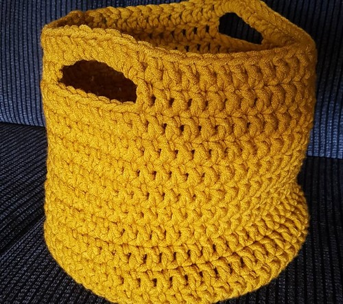 Crochet Ailsa's Quick Easy Basket Bag