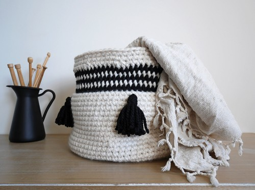 Crochet Maja Basket