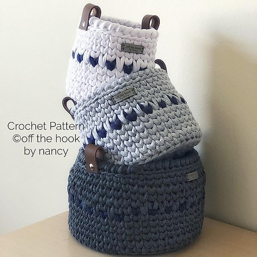 Crochet The Nesting Baskets