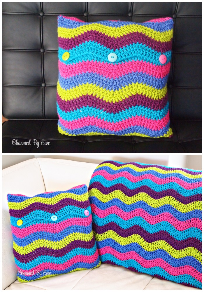 Ripple Pillow Cover