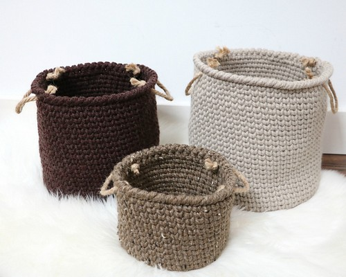 Rustic Farmhouse Nesting Baskets