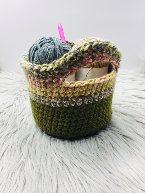 Yarn Kit Basket