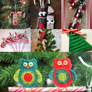 Crochet Candy Cane Patterns