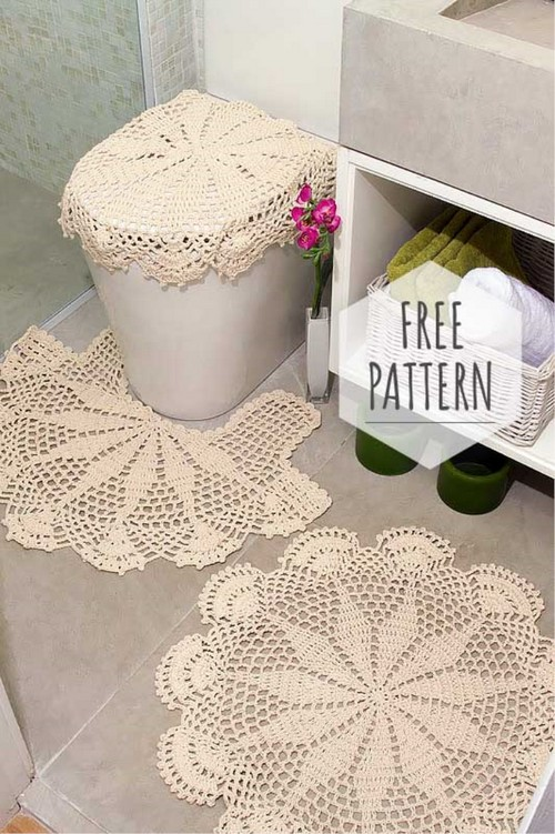 Crochet for Bathrooms Free Pattern