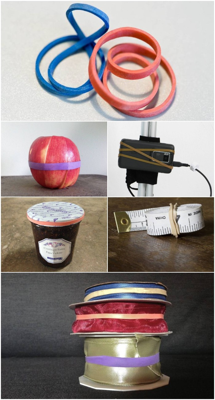 5 clever uses for rubber bands