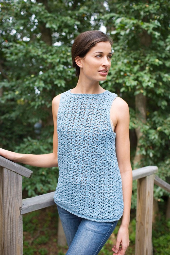Airy Lace Shell Crochet