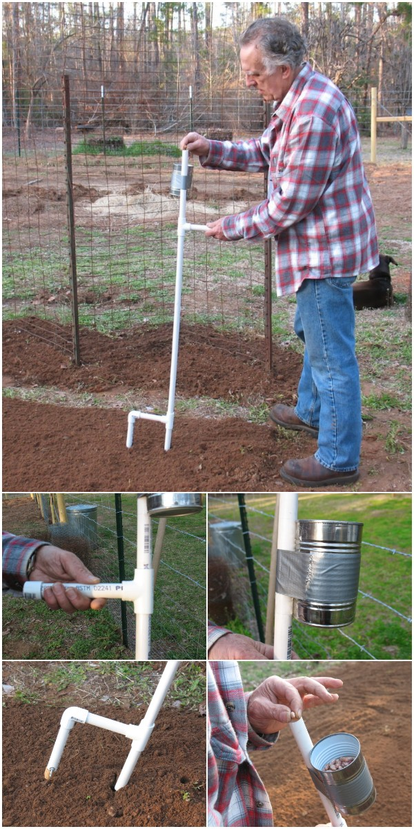 Build A Hand Corn And Bean Planter