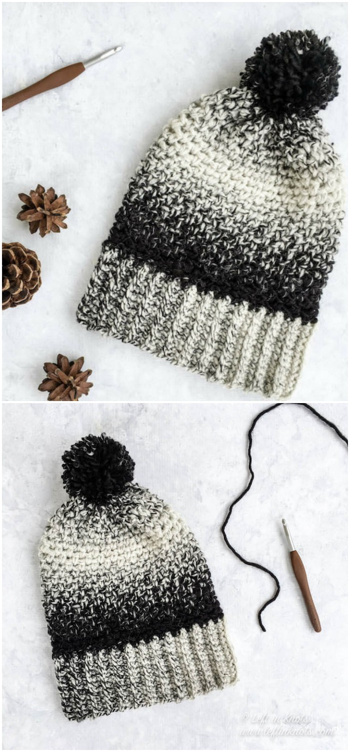 Cookies and Cream Slouch Hat