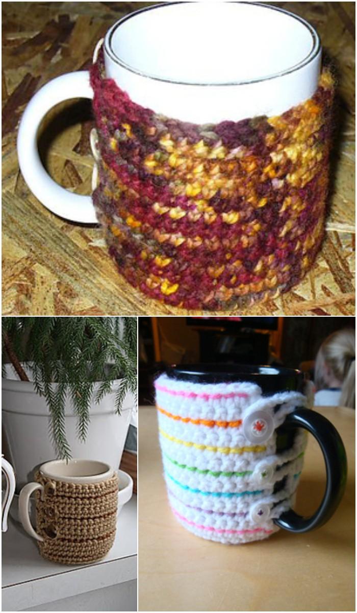 Crochet Cozy Coffee Mug
