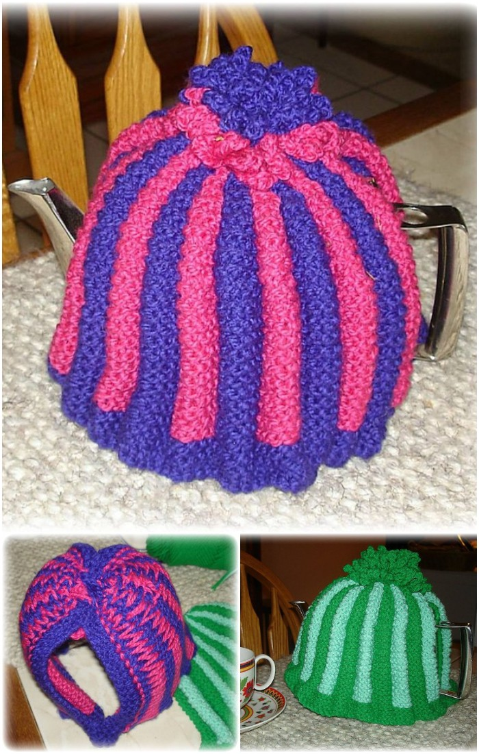 Crochet Knit A Proper Tea Cozy