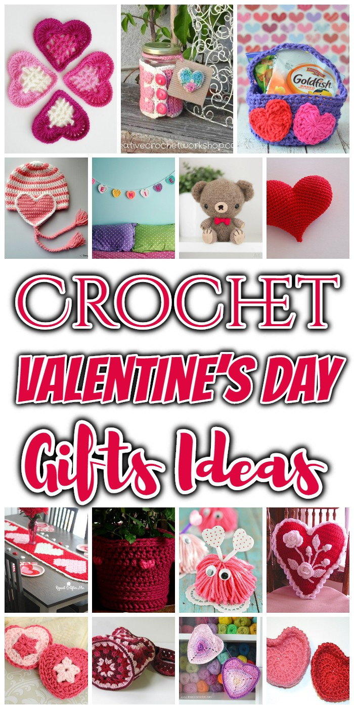 Crochet Valentine's Day Gifts