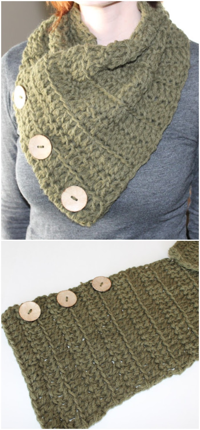 Crocheted Cowl Tutorial