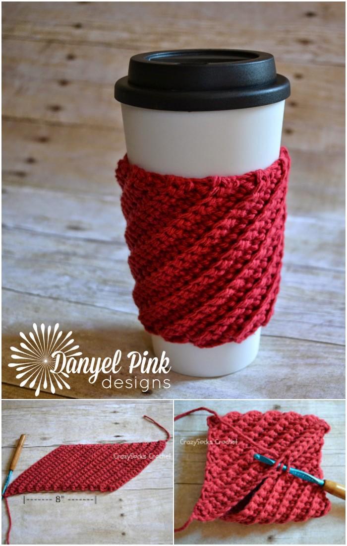 Crooked Coffee Cozy