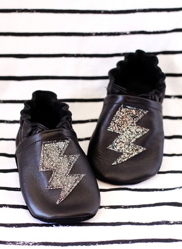 DIY Leather Baby Shoes