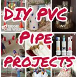 24 Most Creative DIY PVC Pipe Projects