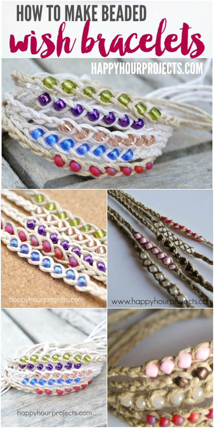 DIY Projects Wish Bracelets