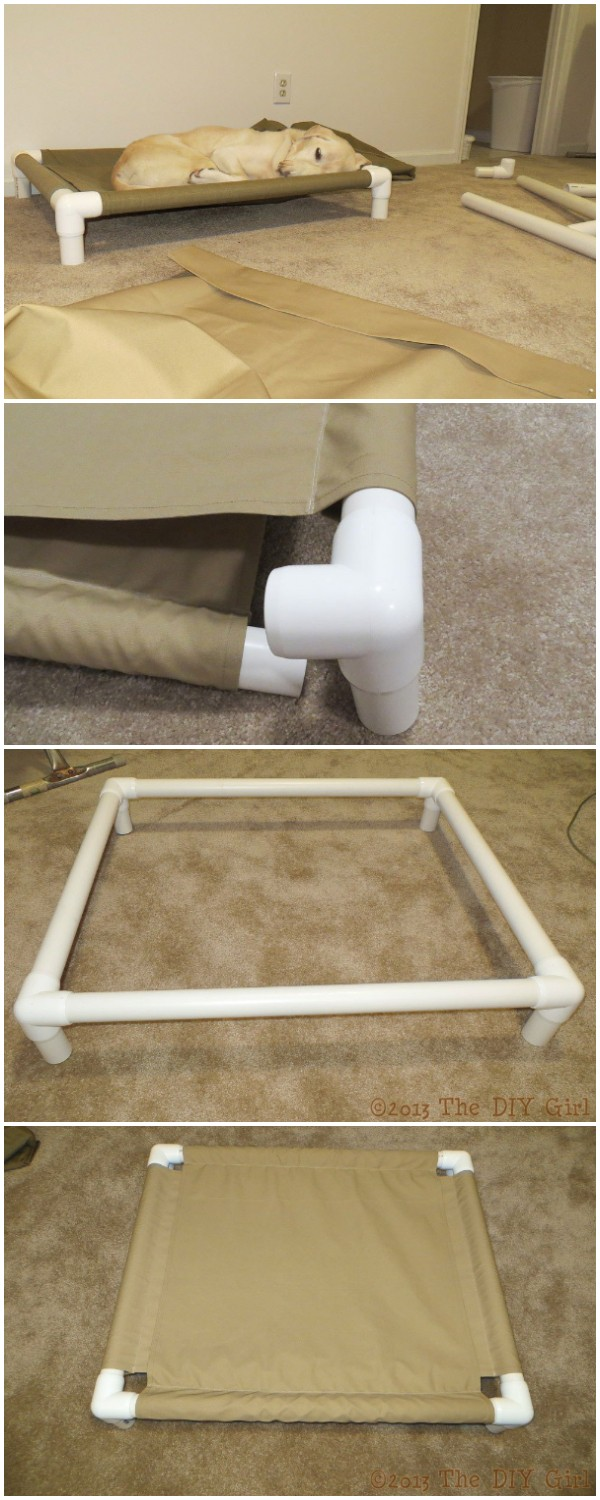 DIY Pvc Dog Cot Tutorial