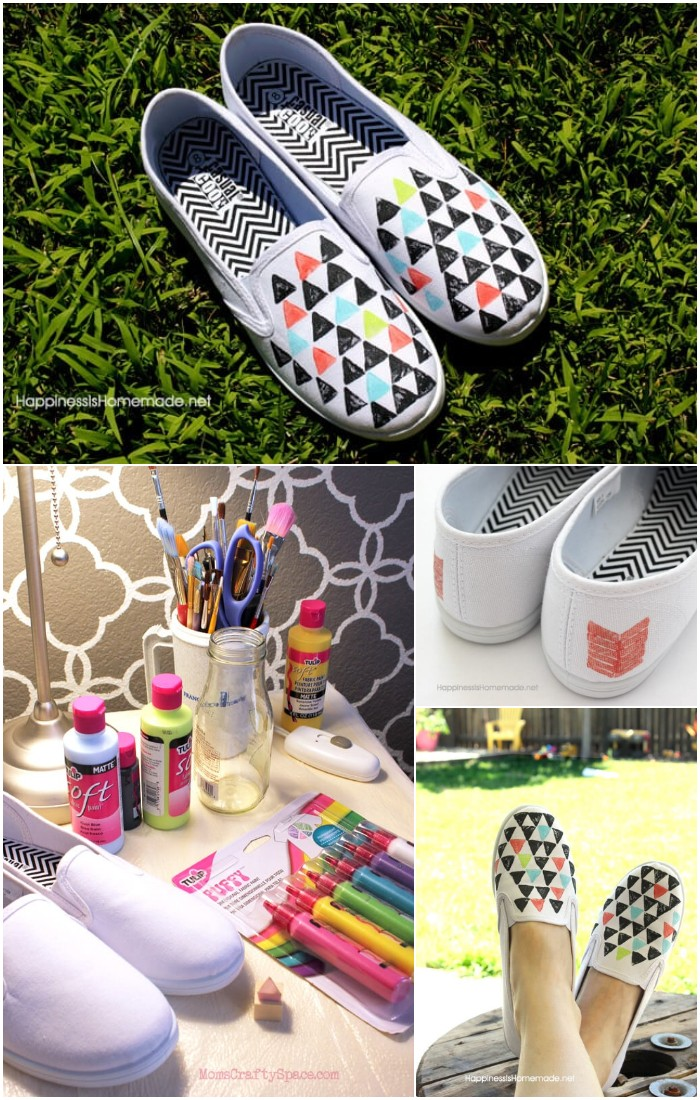 DIY Stamped Shoes Tutorial