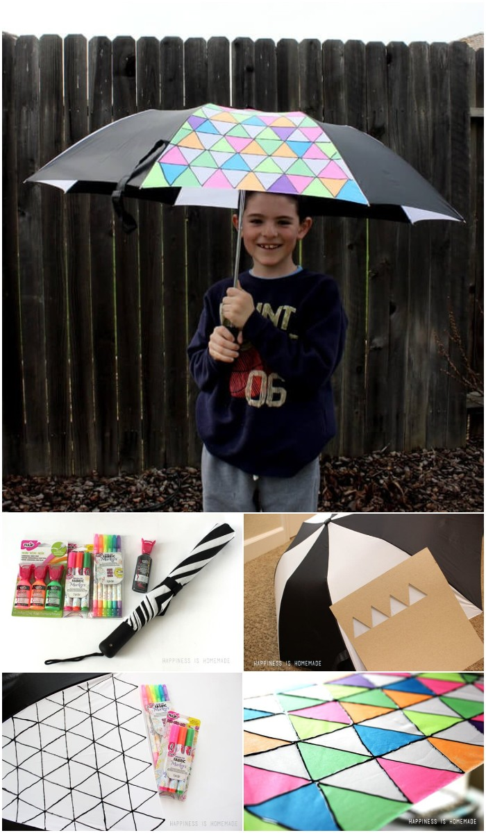 Diy Geometric Umbrella
