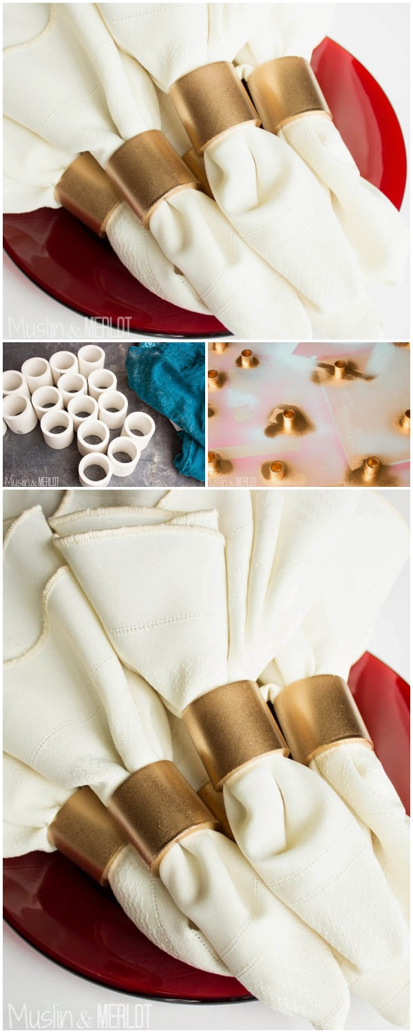 Diy Pvc Pipe Napkin Rings