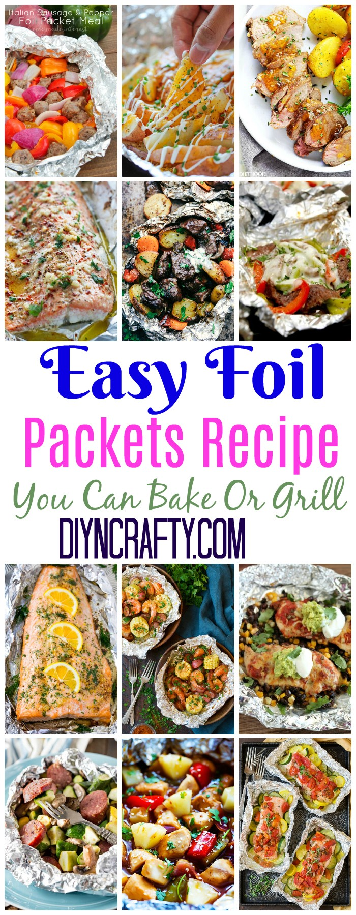 Foil Packets Recipes