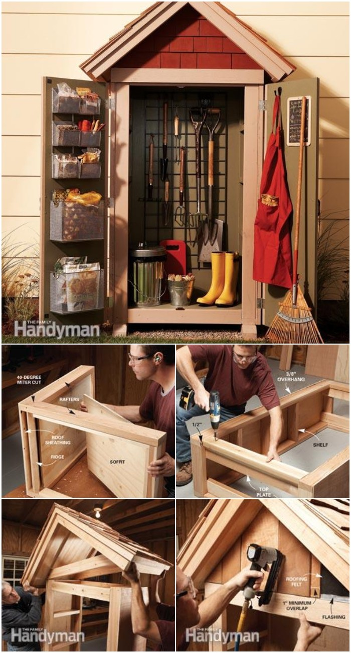 Garden Closet Storage Project