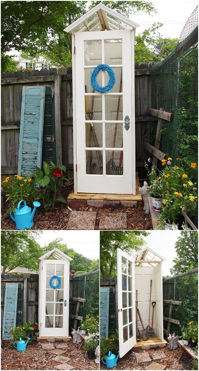 Little DIY Garden Shed